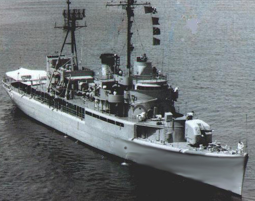 frigate) PF 7, Two(2) Auk-class (corvettes): PS 70 and PS 74,and a