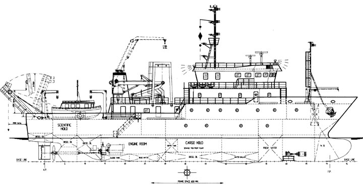 intelligence research and oceanography ships of the republic of rh philippinenavy tripod com Schooner Schematic Drawing 2002 Tracker Boat Schematics